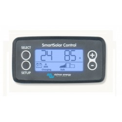 LCD k regulátorom Victron SMART