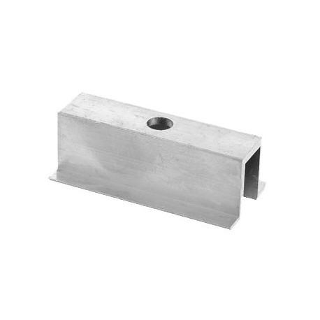 Hliníkový stredový úchyt - 70mm