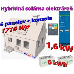 Hybridná elektráreň 1,56 kW