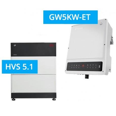 SET GoodWe 5K-ET + BYD BATTERY-BOX PREMIUM HVS 5.1
