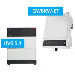 SET GoodWe 8K-ET + BYD BATTERY-BOX PREMIUM HVS 5.1
