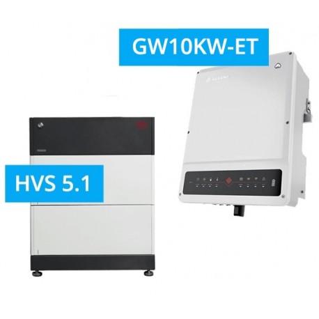 SET GoodWe 10K-DT G2 + BYD BATTERY-BOX PREMIUM HVS 5.1