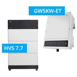 SET GoodWe 5K-ET + BYD BATTERY-BOX PREMIUM HVS 7.7