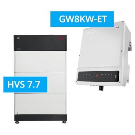 SET GoodWe 8K-DT G2 + BYD BATTERY-BOX PREMIUM HVS 7.7