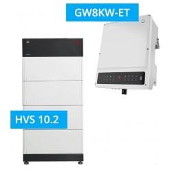 SET GoodWe 8K-ET + BYD BATTERY-BOX PREMIUM HVS 10.2
