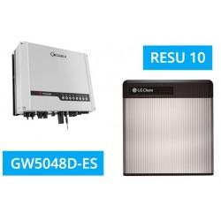 SET GoodWe GW5048D-ES + LG Chem Resu 10 LV