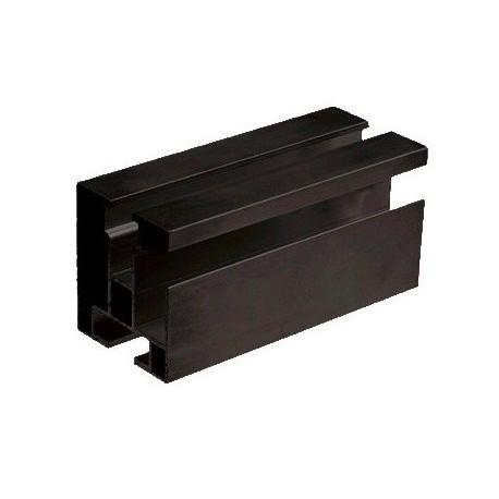 Hliníkový profil HNP1 - 40x45mm - dĺžka 4,3m ELOX