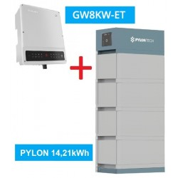 SET GW 8K-ET + Pylontech Force H2 - 14,21kWh