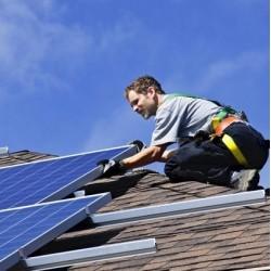 Inštalácia fotovoltaickej elektrárne