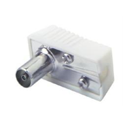 Konektor TV - IEC FEMALE uhlový