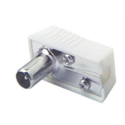 Konektor TV - IEC MALE uhlový
