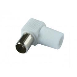 Konektor TV - IEC MALE uhlový sk