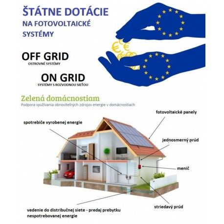 Inštalácia fotovoltaickej elektrárne s DOTÁCIOU