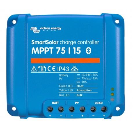 Regulátor Victron SMART 75V/15A/12-24V MPPT