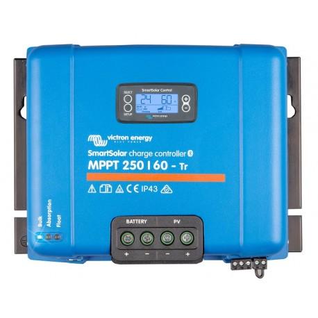 Regulátor Victron SMART 250V/60A/12-48V MPPT Tr