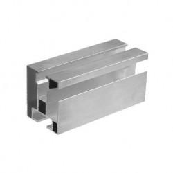 Hliníkový profil HNP1 - 40x45 mm - dĺžka 4,3 m