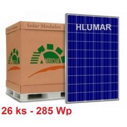 Solárny panel Amerisolar 285W - PALETA-26 ks
