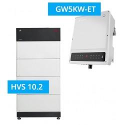 SET GoodWe 5K-ET + BYD BATTERY-BOX PREMIUM HVS 10.2