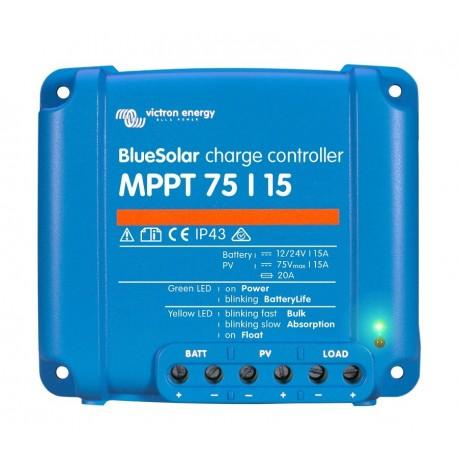 Regulátor Victron 75V/15A/12-24V MPPT